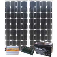 Солнечная электростанция для Дачи 1000 Вт/ч